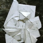 """An 8""""x10"""" maquette to figure out how to construct the larger piece/"""